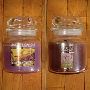 Yankee Candles (2) 14.5 oz Jars